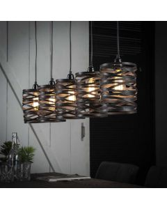 Hanglamp Spindle - 5 x lichts