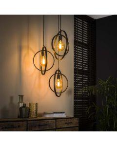 Hanglamp Turn around - 3 lichts - Getrapt - Rond