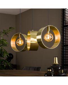 Hanglamp Vegas - Goud - Rond - Open - 3 lichts