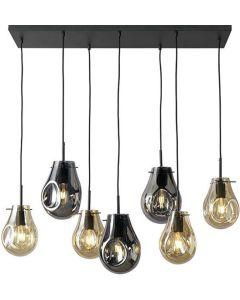Hanglamp Charlie XL - 7 Glasbollen